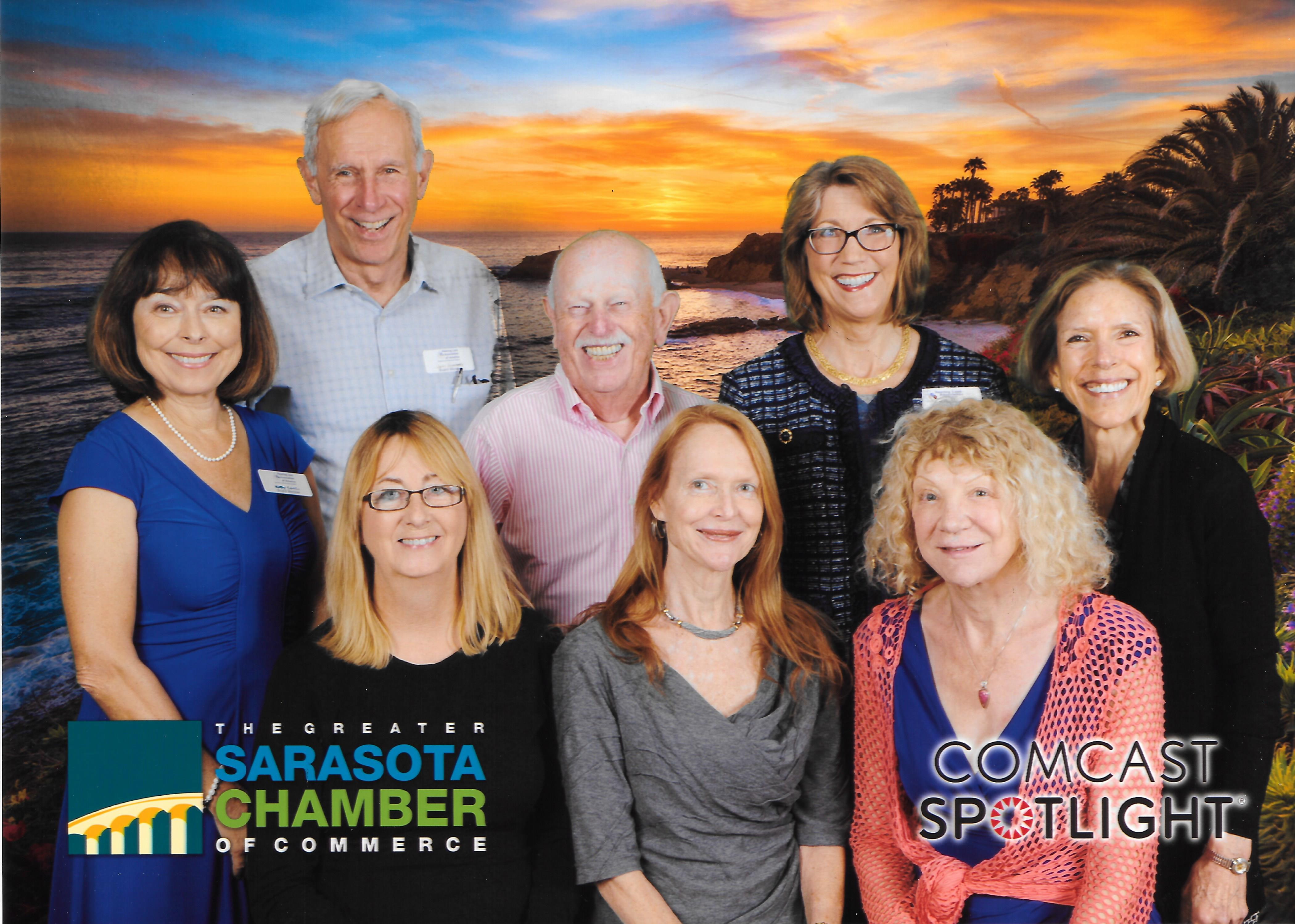 Chamber Award Sunset Background 6.1.2017